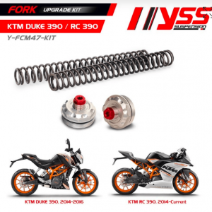 KTM Duke 390 YSS Fork upgrade Kit